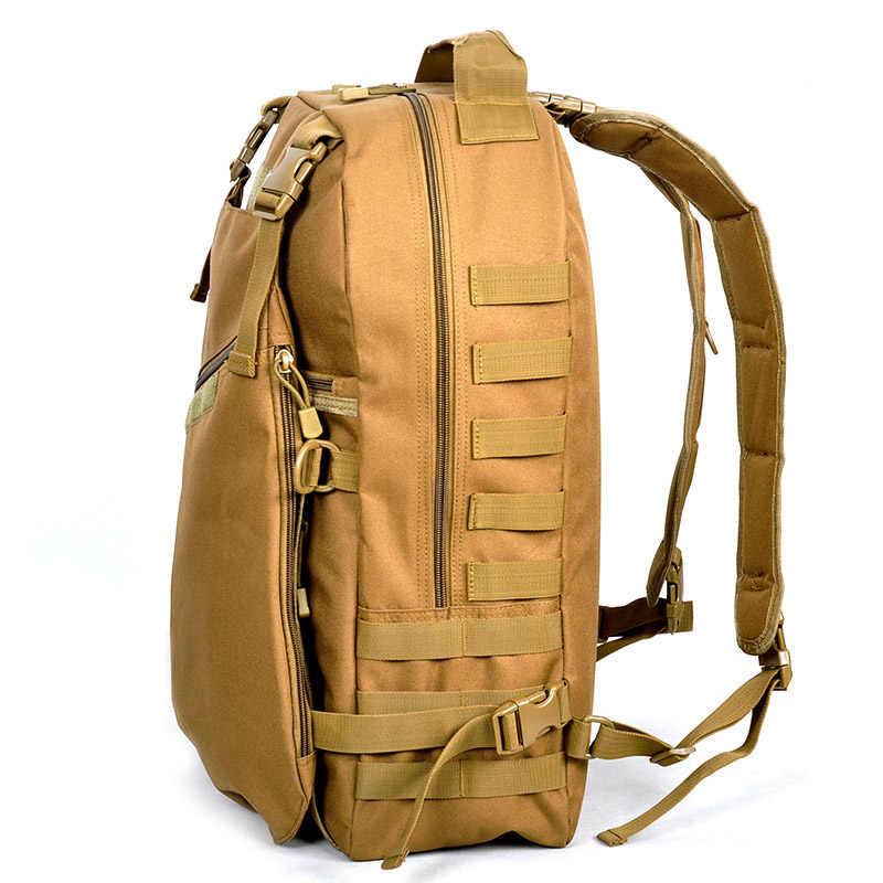 ab6bd5c3ec1c ... Для мужчин и размер 40 литров водонепроницаемый нейлон посылка высокое  качество водонепроницаемый рюкзак сумка Военная водостойкая ...