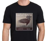 חם מגניב של גברים Sales2017 Katatonia נפל לבבות של צפון אמריקה Tour2017 3D מודפס גברים של חולצות T באיכות גבוהה