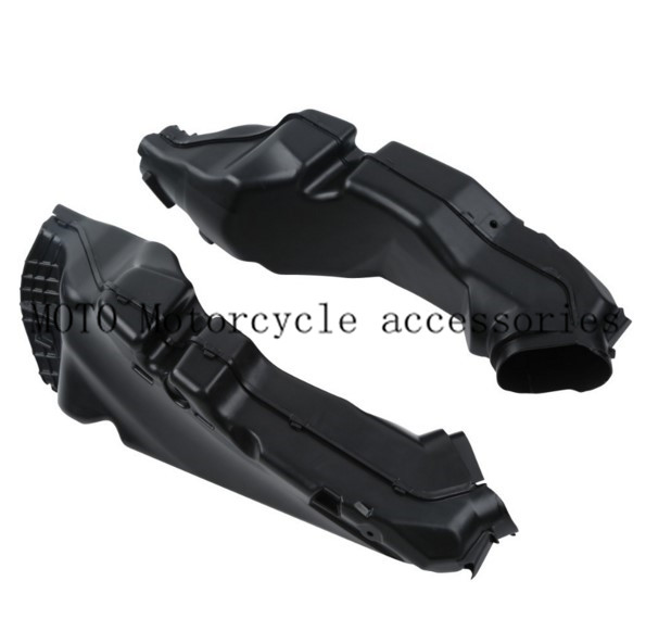 Black Motorcycle Ram Air Intake Tube Duct Pipe For Suzuki GSXR 600 750 GSXR600 GSXR750 2011 2012 2013 K11 new motorcycle ram air intake tube duct for suzuki gsxr600 gsxr750 k11 2011 2012 abs plastic black