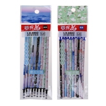 10Pcs/Set Pen Refill 0.38mm Erasable Gel Ink Pen Refills Magic Writing Study Office Supply Stationary