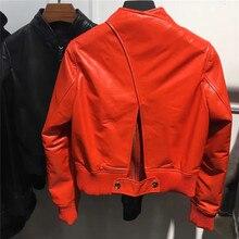 2017 Genuine Leather font b Jacket b font font b Women b font New Fashion Sheep