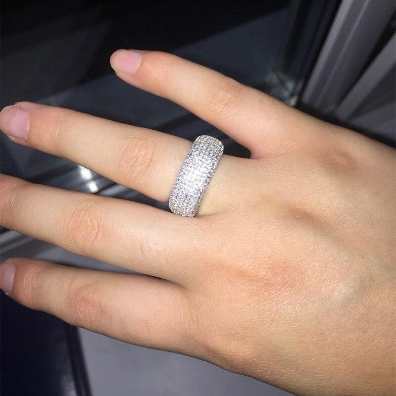 Effie Queen Әйелдер үйлену тарту Finger Ring Trendy - Сәндік зергерлік бұйымдар - фото 5