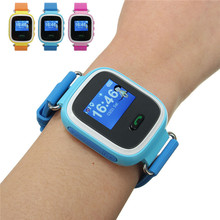 GPS Smart Watch Baby Watch Q60 SOS Call Location Device Tracker for Kid Safe Anti-Lost Monitor Smartwatch