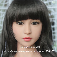 tpe sex doll head,japanese sexy love doll,oral depth 13 cm,Fit body height:135,136,140,145,153,156,158,161cm