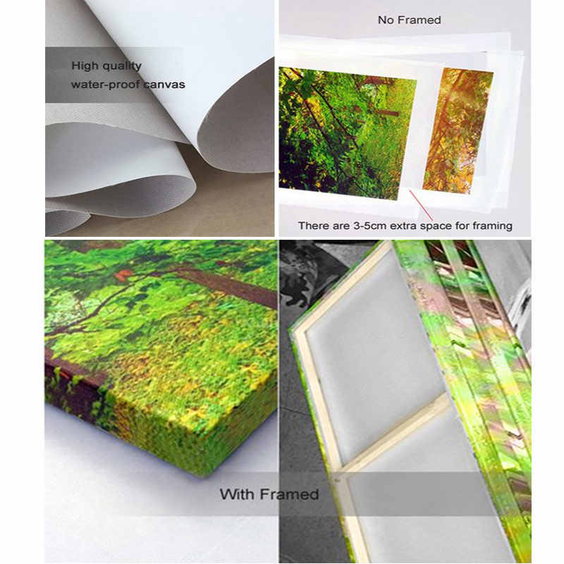 Large 5 Panel Canvas Art Beauty Salon Poster Paintings Nail Wall Decor Pictures