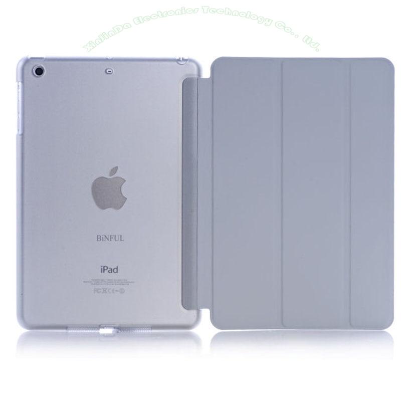 1PC Apple iPad Mini үшін жаңа былғары Case 3 2 1 - Планшеттік керек-жарақтар - фото 2