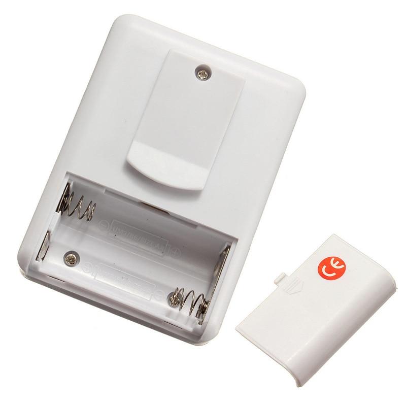 Digital Wireless Doorbell Driveway Garage Motion Sensor Alarm Infrared Wireless Alarm System with Mount Door Bell