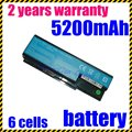 JIGU 5200mAh Laptop Battery for Acer AS07B31 AS07B41 AS07B51 AS07B61 AS07B71 LC.BTP00.008 LC.BTP00.014  Free shipping 11.1v