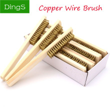 Copper-Brush Polishing Brass-Wire Cleaning-6x16 Industrial-Devices Grinding for Surface/Inner
