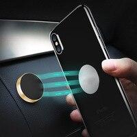 Lieve Magnetic Car Phone Holder,Universal Wall Desk Metal Magnet Sticker Mobile Stand Phone Holder Car Mount Support