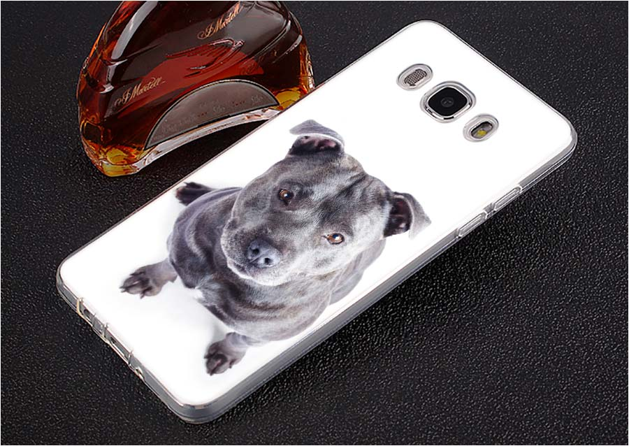 BINYEAE Bullterrier bull terrier Style Clear Soft TPU Phone Cases for For Samsung J1 J3 J5 J7 2016 2017 EU Prime