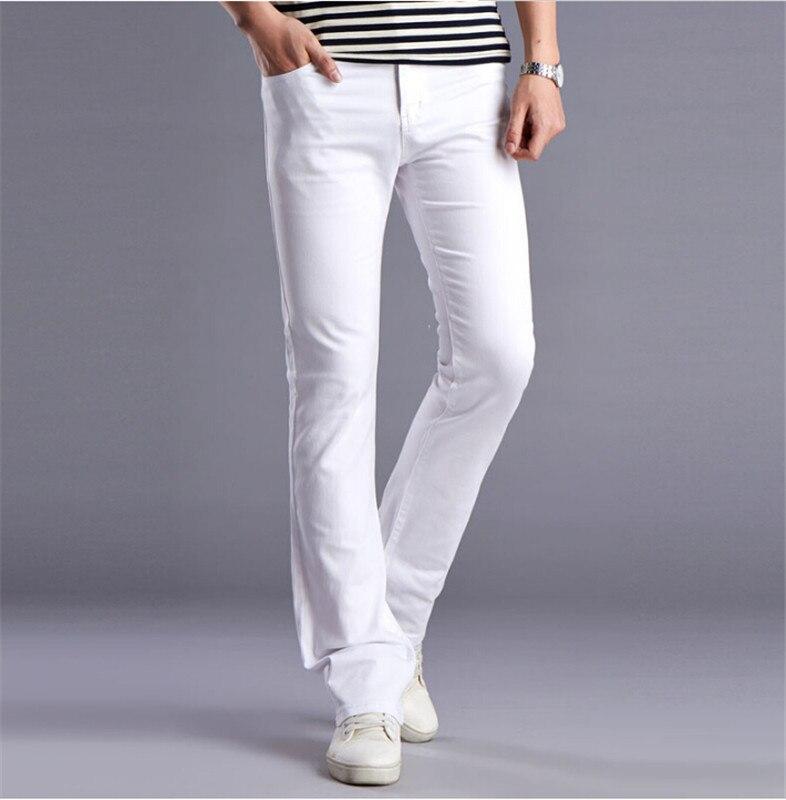 Aliexpress.com : Buy Men 2016 New White Designers Flare Pants ...