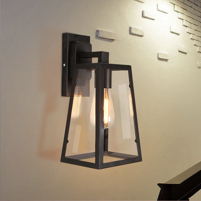 Outdoor Waterproof Wall Lamp Led Villa Vintage Lamp Sconce Designer Royal House/patio/courtyard/porch/garden Glass Wall Lighting Fine Workmanship Led Lamps