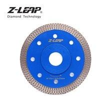 "Z-LEAP 105mm Super Thin Diamond Saw Blade 4"" Wave Style Diamond Cutting Blade for Stone Porcelain Tile Ceramic Circular Disc"