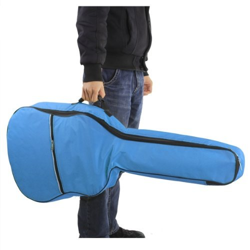 SCYL Gitar bags bass bags Case Soft Padded for Folk Guitar 39 40 41 Inch Sky Blue