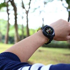 Image 5 - Focusmart f5 스포츠 스마트 시계 gps 혈압 심장 박동 모니터 피트니스 트래커 ios andriod 용 방수 스마트 시계