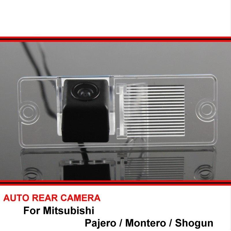 Para Mitsubishi Pajero Montero Shogun 2006 ~ 2016 vista trasera de coche cámara trasera reversa copia de seguridad aparcamiento visión nocturna impermeable SONY