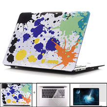 цена на Oilpainting Hard Case Cover For Macbook Air 13 Case Air 11 Pro 13 Retina 12 13 15 Laptop Bag For MacBook Pro 13 Case