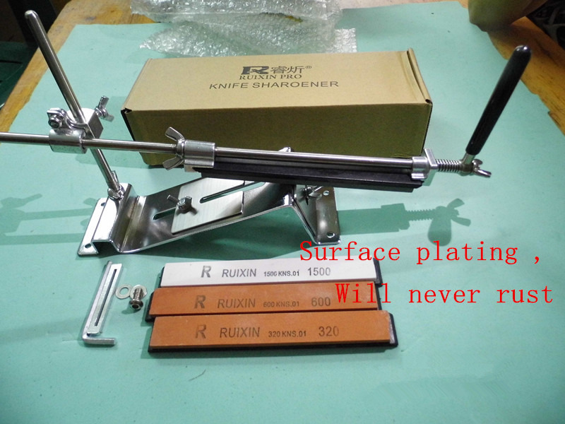 Latest technology Plating surface Will never rust cooking tools font b knife b font sharpener system