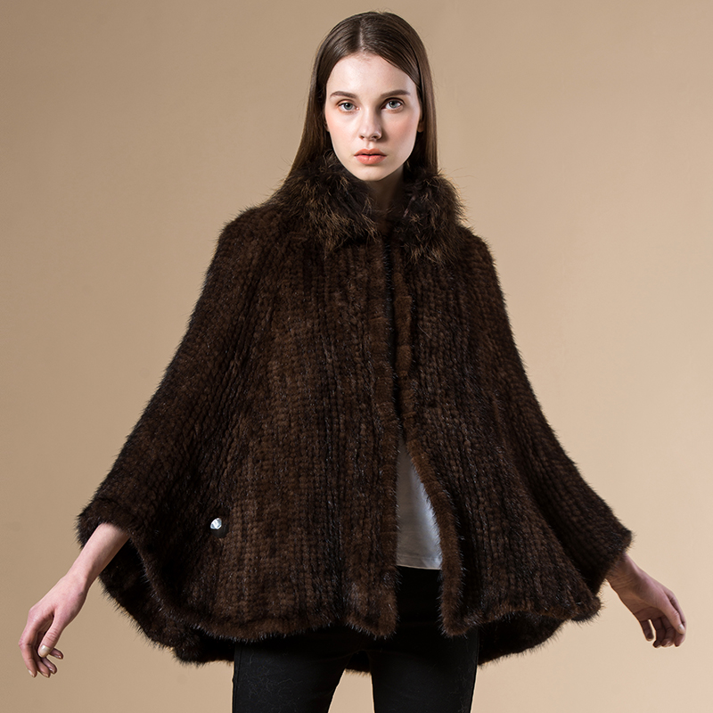Online Buy Wholesale knitted mink coat from China knitted mink
