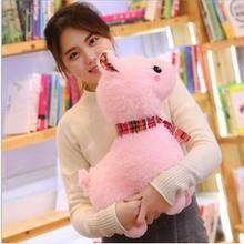 WYZHY маленькая игрушечная овечка плюшевые игрушки прикроватные украшения отправьте друзьям и детям подарки в трех цветах 20 см