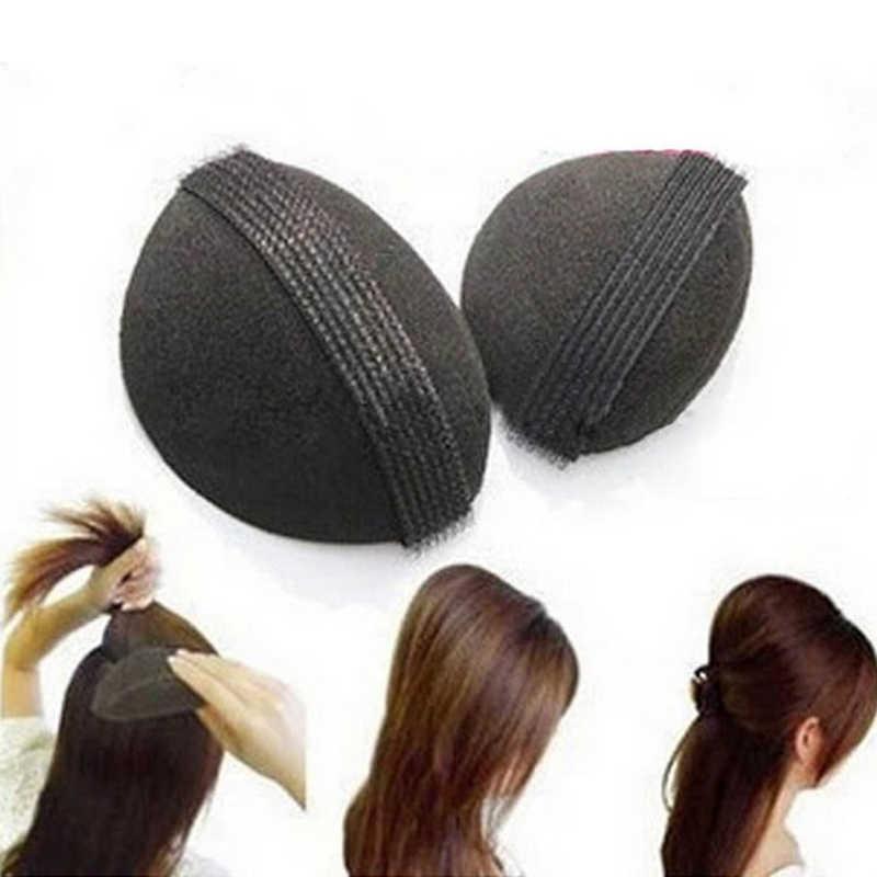 2 шт./лот, губка для волос, заколка для волос, принцесса, для укладки волос, пушистая губка для женщин, элегантные аксессуары для волос, инструменты, головные уборы