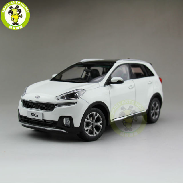 1/18 KIA KX3 Diecast car model SUV for collection gifts hobby White