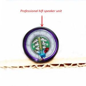 Image 4 - 15.4mm 130 ohm Headphone HiFi Loudspeakers Pure Beryllium Speaker unit for MX500 DIY with Shell Cases 108dB/W