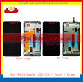 "High Quality 6.0"" For Nokia Lumia 1320 Full LCD Display Touch Screen Digitizer Sensor Assembly Complete Panel With Frame"