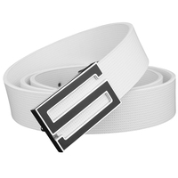 Fashion Letter S Buckle High Quality Genuine Leather Belt Designer Luxury Brand Waist Strap Off White