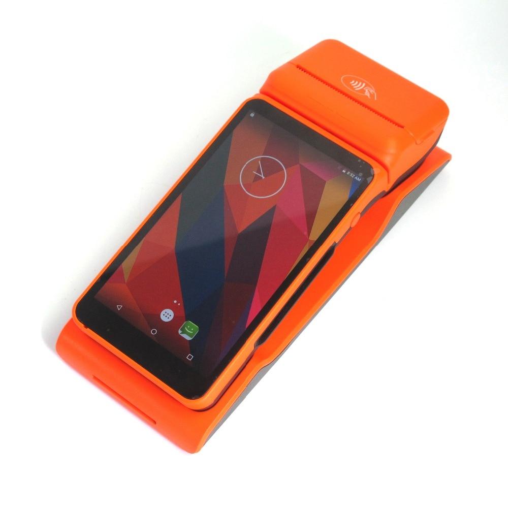 5.5 дюймов сенсорный экран Wireless Mobile платежный машины Android 5.1 ручной POS терминал с Card Reader термопринтер