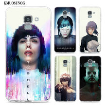 Transparent Soft Silicone Phone Case ghost in the shell For Samsung Galaxy j8 j7 j6 j5 j4 j3 Plus 2018 2017 Prime все цены