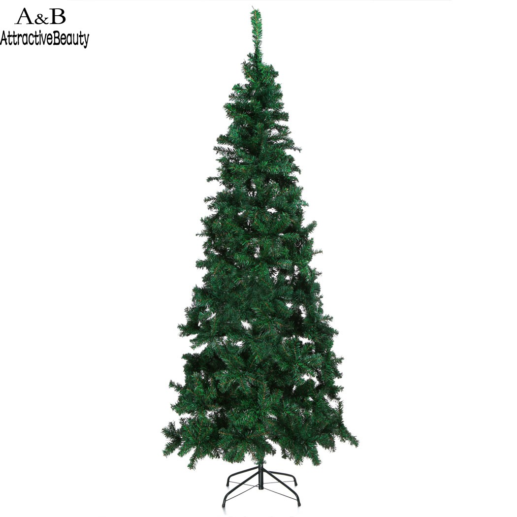 HOMDOX Large 2.2M Artificial Christmas Xmas Tree Holiday Season ...