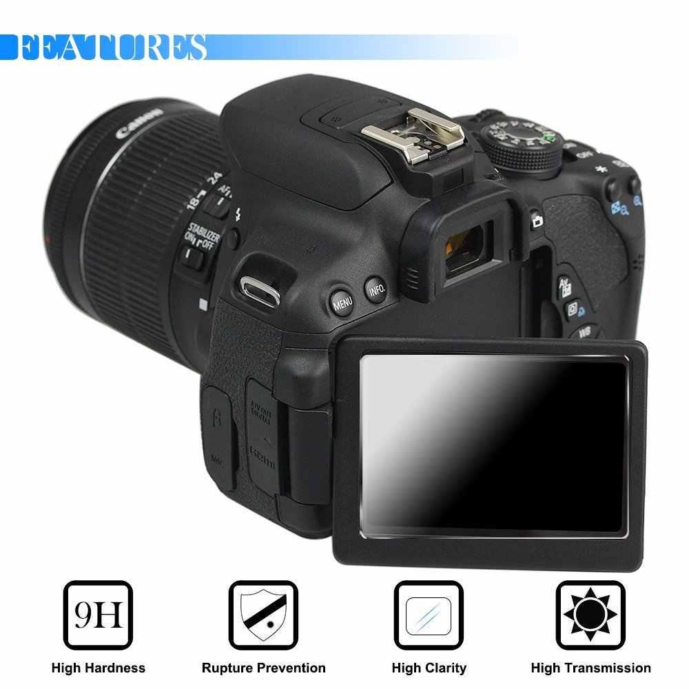 Из 2 предметов 9 H закаленное Стекло ЖК-дисплей Экран протектор для Canon G7X Mark II 2 G7X G9X G7XII G7XIII G9XII G5X M100 M50 G1X Mark III M6 6D