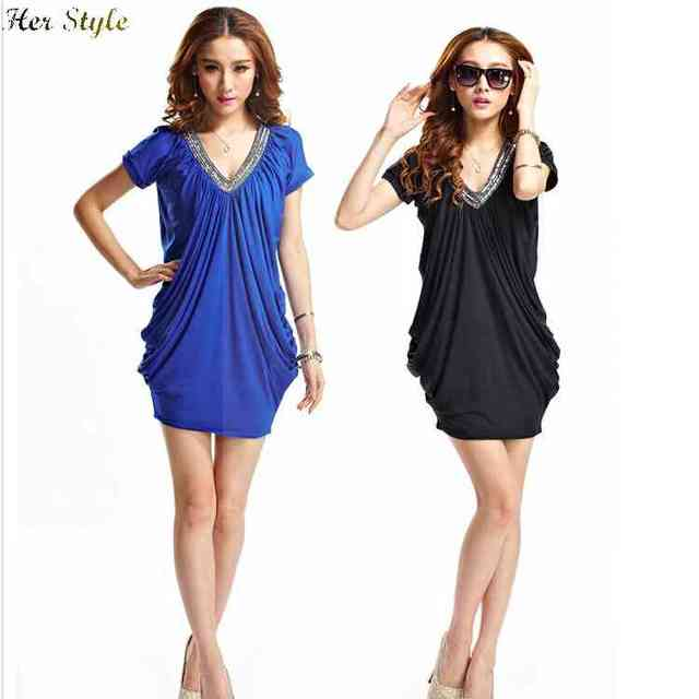 Fat Free Summer Shipping New Size Womens Clothing Dresses With Beaded Collar Make Me Look Slimmer