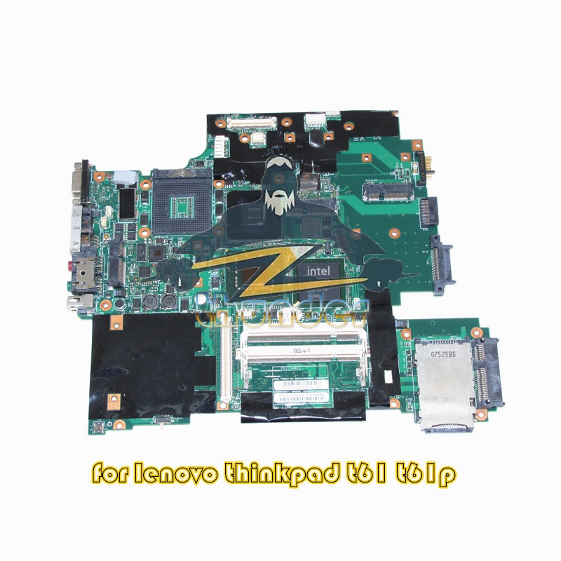NOKOTION 42W7876 44C3928 for lenovo IBM thinkpad T61 T61P laptop motherboard 965PM DDR2 15.4''ATI 128M 41w1364 motherboard main board for ibm lenovo thinkpad t60 t60p 14 1 notebook ati x1300 945pm ddr2 free cpu