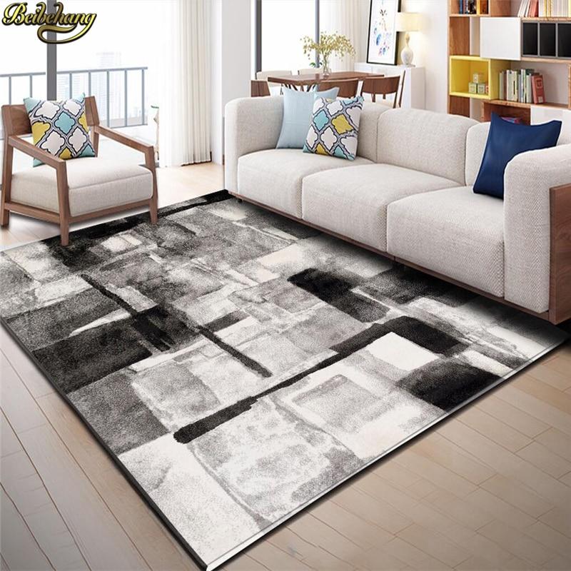 Beibehang Nordic astratta geometria tappeto murale piano carta da ...