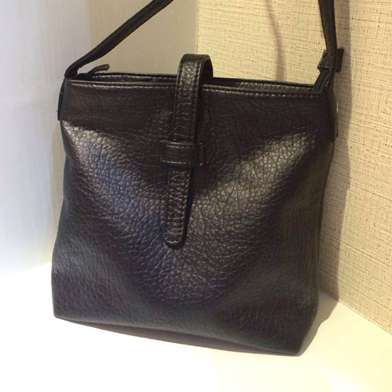 цена на Casual Crossbody Bags for Women handbags Soft PU leather Women's Shoulder bag bolsa feminina female bucket messenger bags