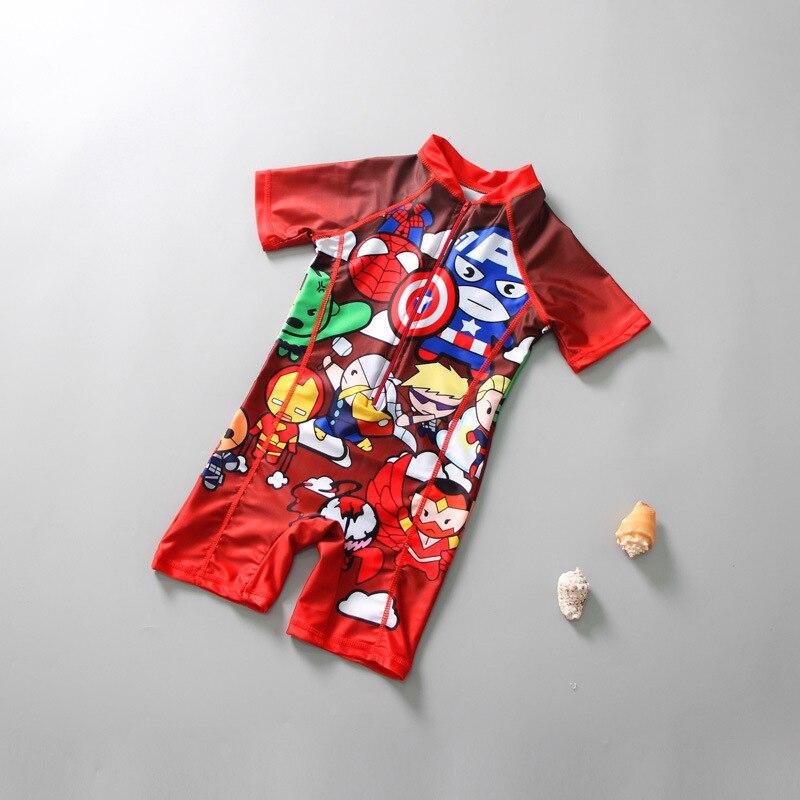 reloj 4c1ac 12208 Traje de baño bebé niño Bikini niños ropa de niños traje de baño Niña Robot  Animal poliéster Sierra Surfer para traje de baño