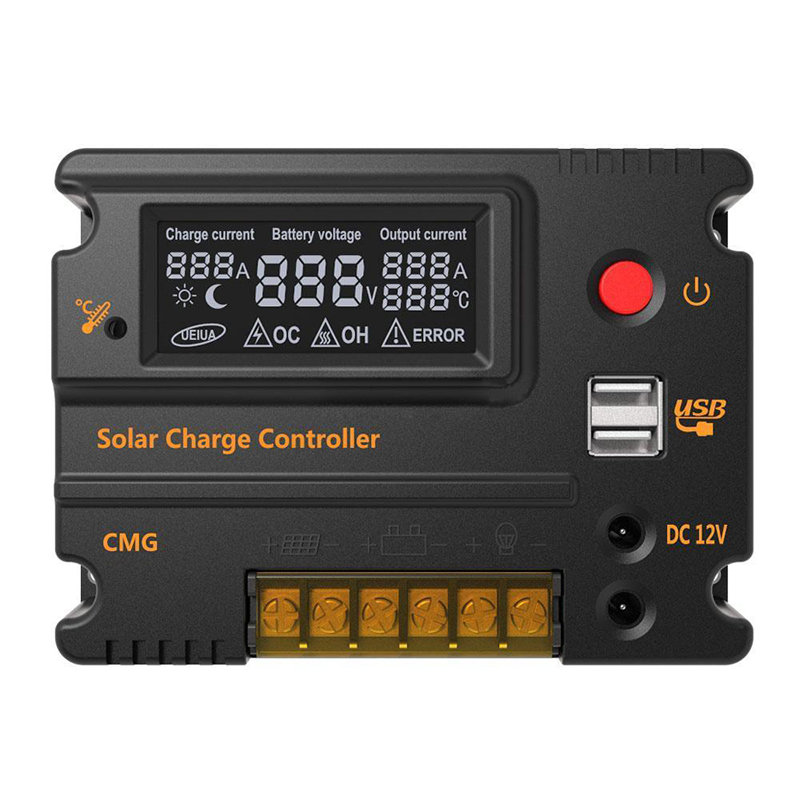20A 12V 24V LCD Solar Charge Controller Panel Battery Regulator Protection20A 12V 24V LCD Solar Charge Controller Panel Battery Regulator Protection
