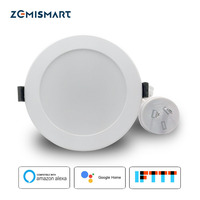 Zemismart AU Type SAA 3.5 inch WiFi RGBCW Led Downlight Voice Control by Alexa Echo Google Home Assistant Home Automation IFTTT