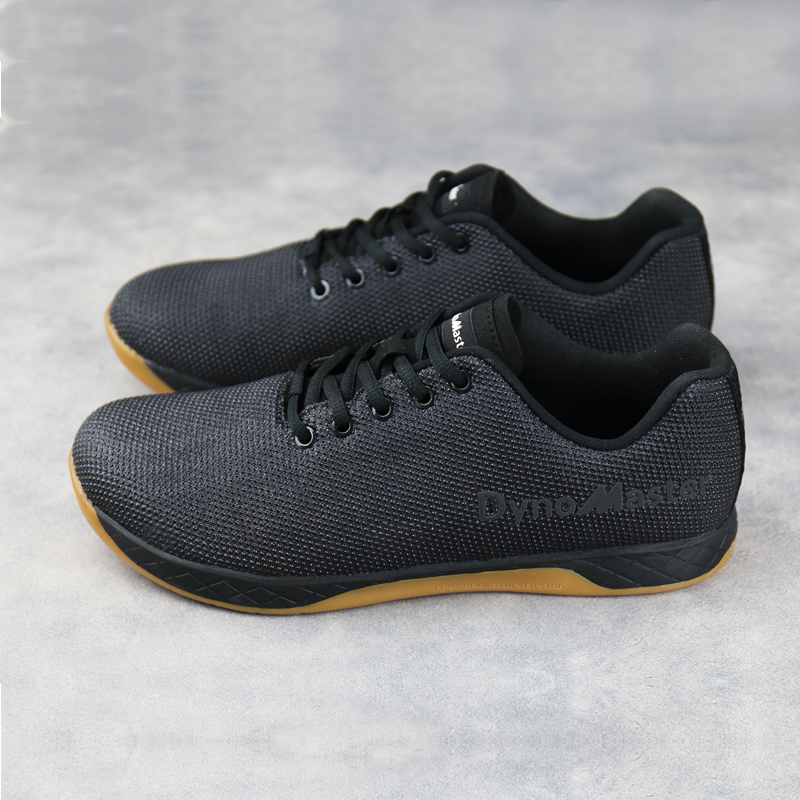 Dynomaster Sneaker Shoes Trainer Weightlifting Comfortable Cross-Training Fitness Black