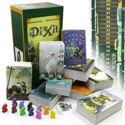 Dixit 1 2 3 4 5 6 7 8 bord spiele für kinder pädagogisches spielzeug holz bunny insgesamt 672 karten 12 spieler für party karten spiel
