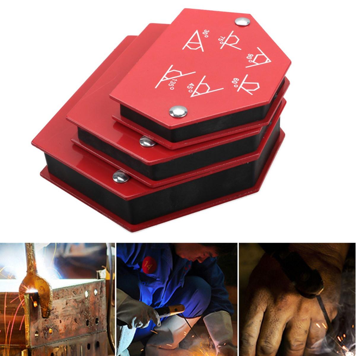 1pcs 50LBS Welding Locator Strong Magnet Weldering Positioner Power Soldering Fixture Magnetic Welding Holder Tool Accessories