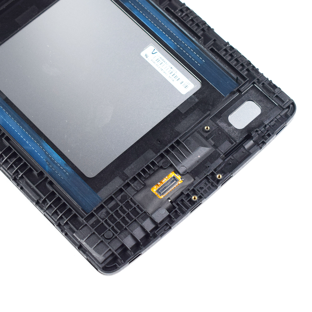 Para LG G Pad 8,0 V480 V490 pantalla LCD matriz pantalla táctil digitalizador Panel Sensor de vidrio Tablet montaje reemplazo con marco - 3