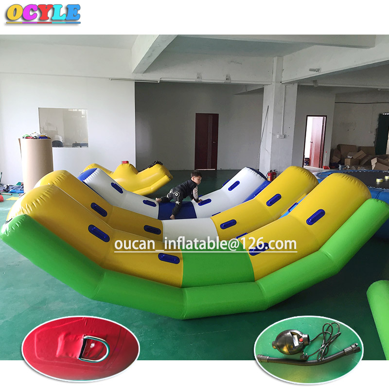 HOT OCYLE Free Air Inflatable Water Board Toys, Cheap Inflatable Water Boards, Durable Inflatable Water Park Toys river treasure water sport toys inflatable water seesaw