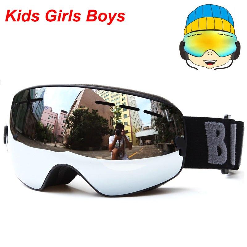 UV400 Anti-fog Gogle snowboardowe Dzieci Double Lens Ski Snow Okulary - Ubrania sportowe i akcesoria - Zdjęcie 5