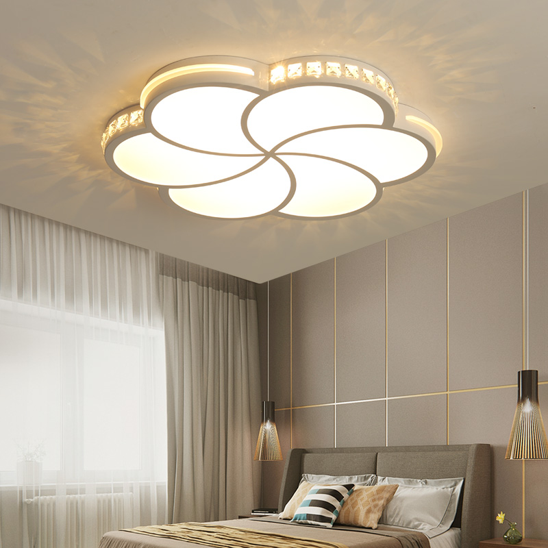 US $76.3 30% OFF|New Design Crystal Acrylic Modern Led Chandelier Lights  For Living Dining Room Bedroom Chandelier Lighting lustre lampadario-in ...