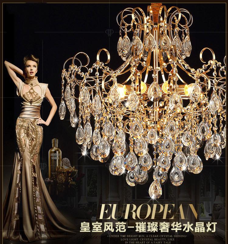 X Wohnzimmer Lampe Runde Platz Kronleuchter Kristall Atmosphre Led Beleuchtung Schlafzimmer Dekoration