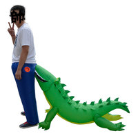 Child Inflatable Costume Kids Party Halloween Crocodile Fancy Dress Cloth
